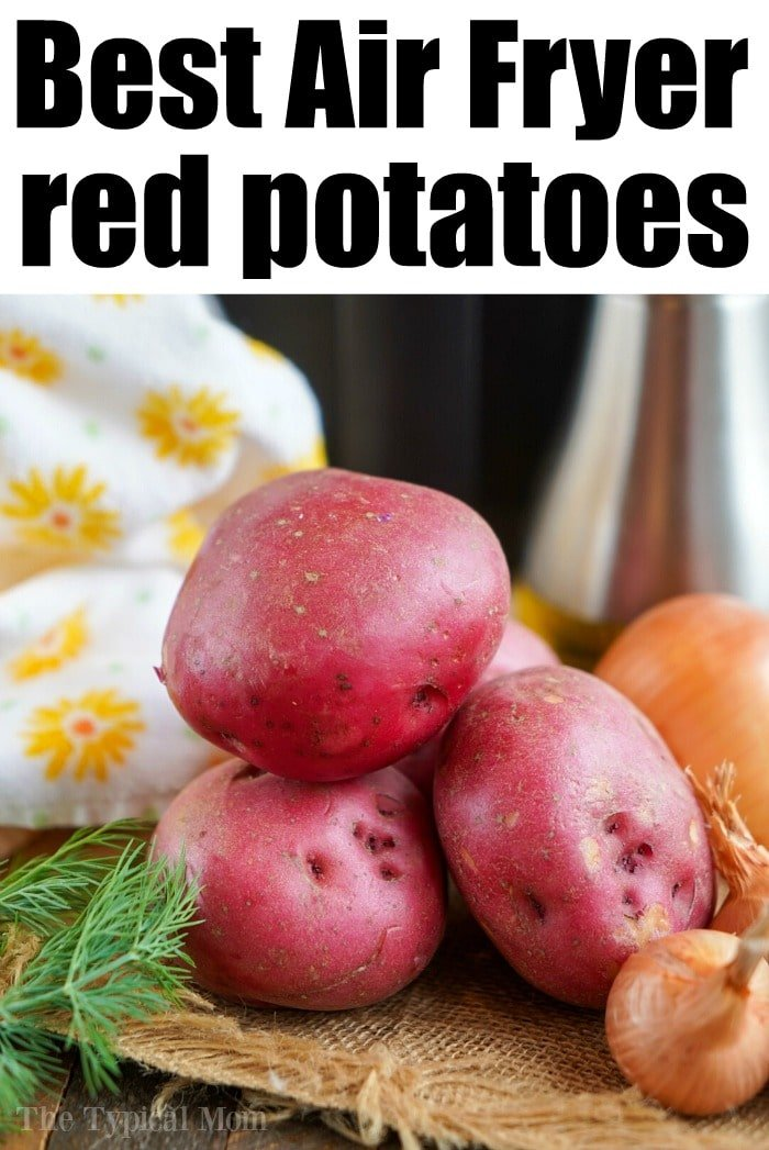 red potatoes in air fryer