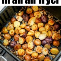 roast potatoes in air fryer