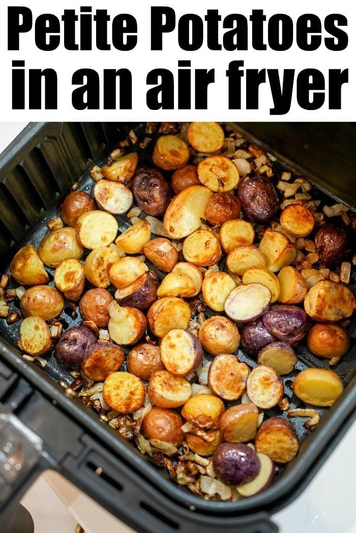 roast potatoes in air fryer
