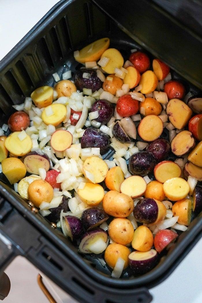 roasted potatoes in air fryer