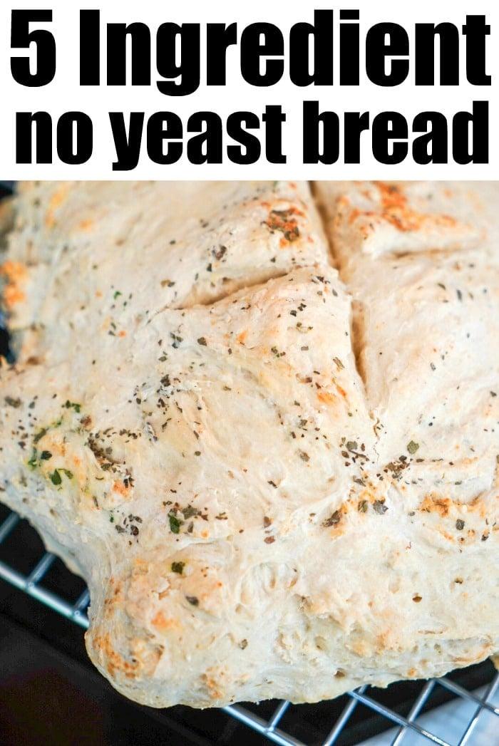 Easy Bread Recipe No Yeast