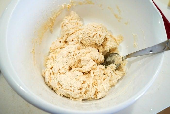 no yeast bread dough