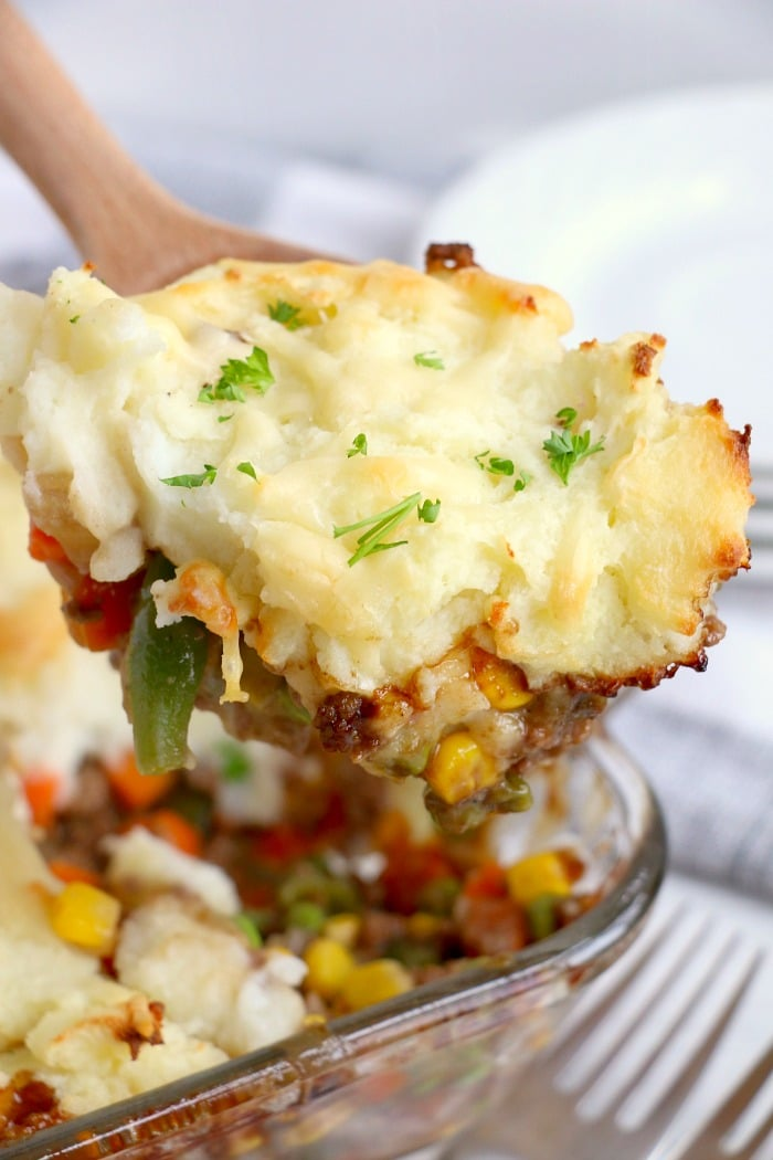 Easy Shepherd's Pie with Instant Mashed Potatoes