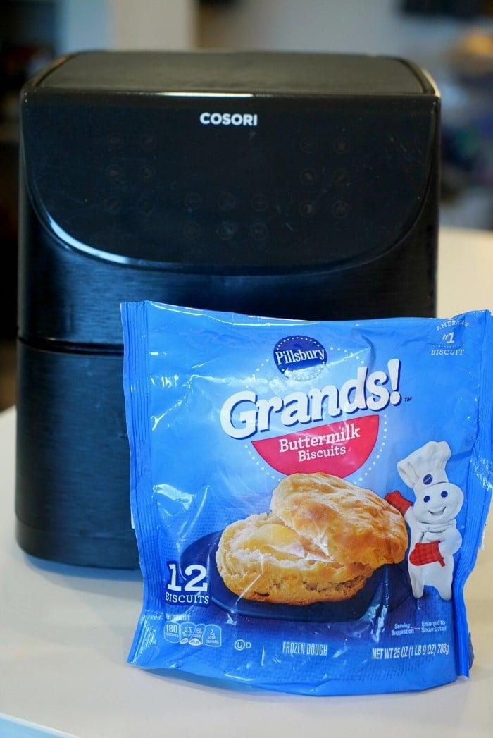 Frozen Biscuits in Air Fryer