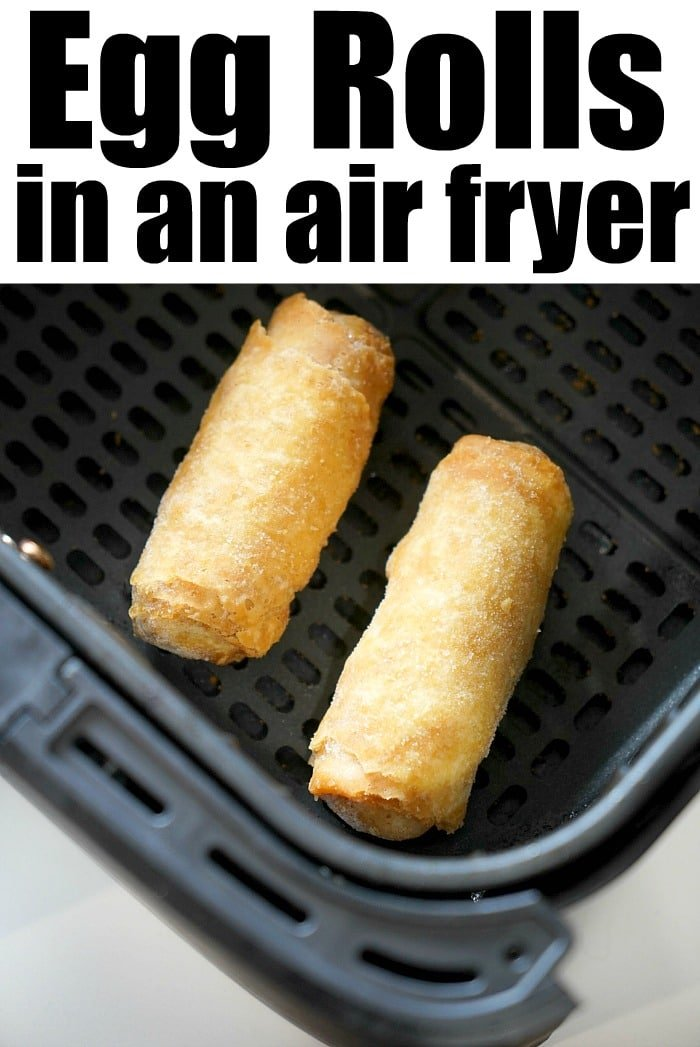 Frozen Egg Rolls in Air Fryer