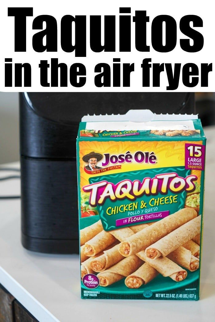 Frozen Taquito in Air Fryer