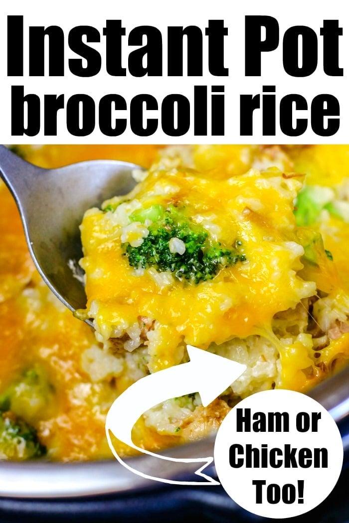 Instant Pot Chicken Broccoli Rice