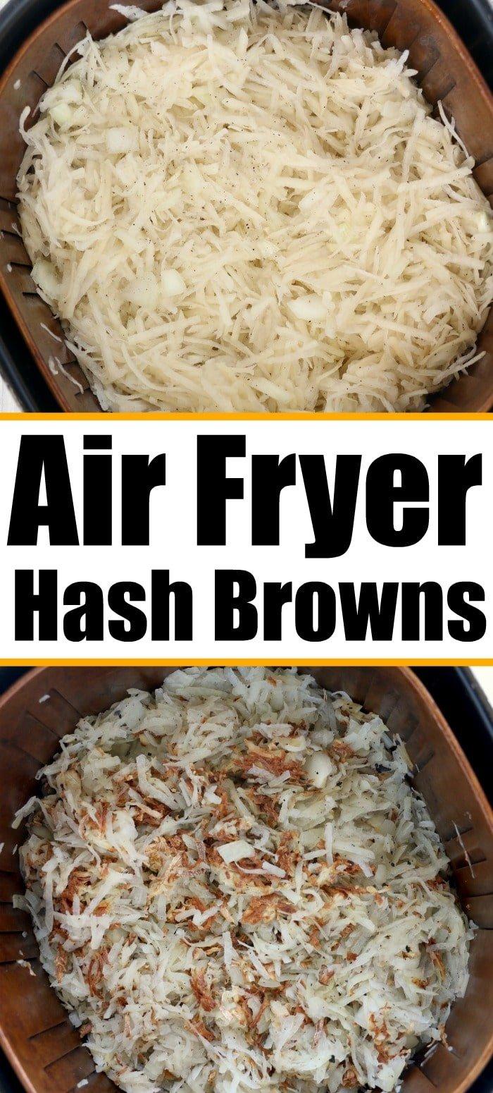 air fryer hashbrowns