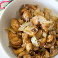 air fryer mushroom recipe