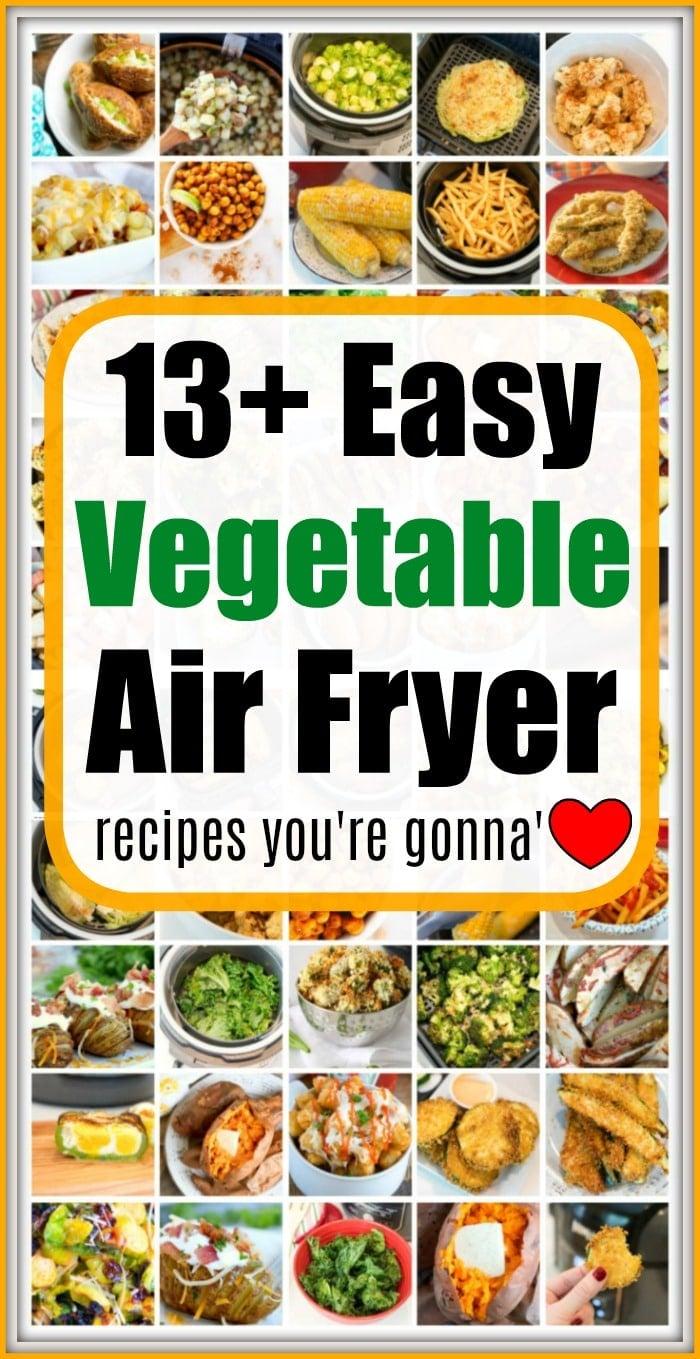 air fryer vegetable recipes