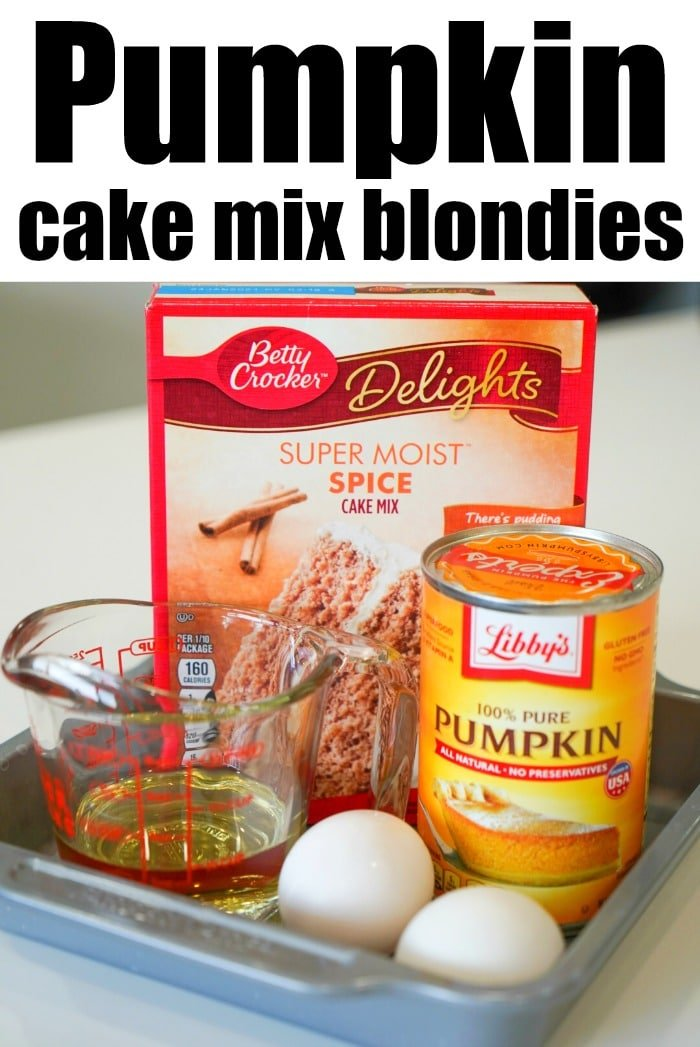 easy pumpkin dessert