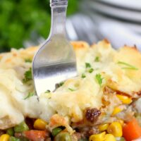 easy shepherds pie with ground beef