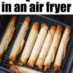 frozen food in air fryer