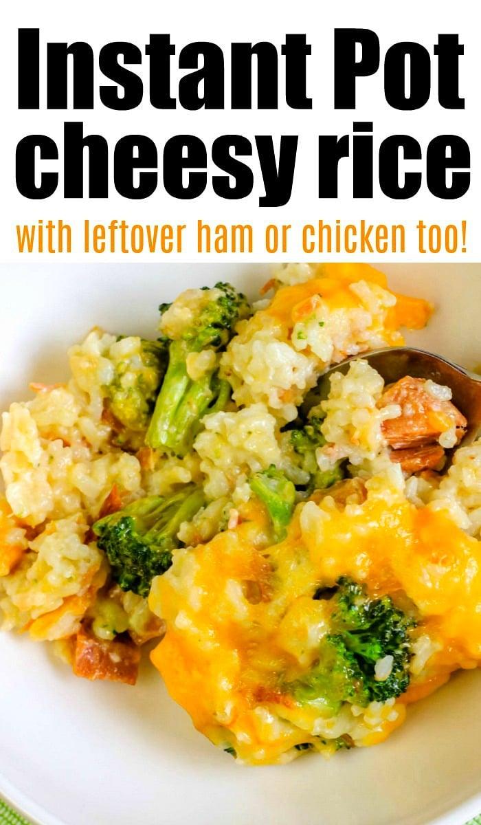 pressure cooker chicken broccoli rice