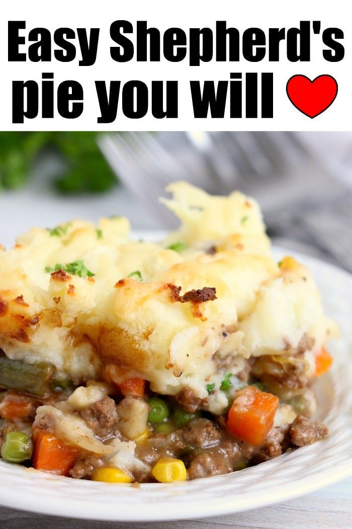shepherds pie recipe easy ground beef