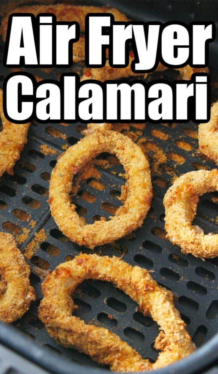air fried calamari