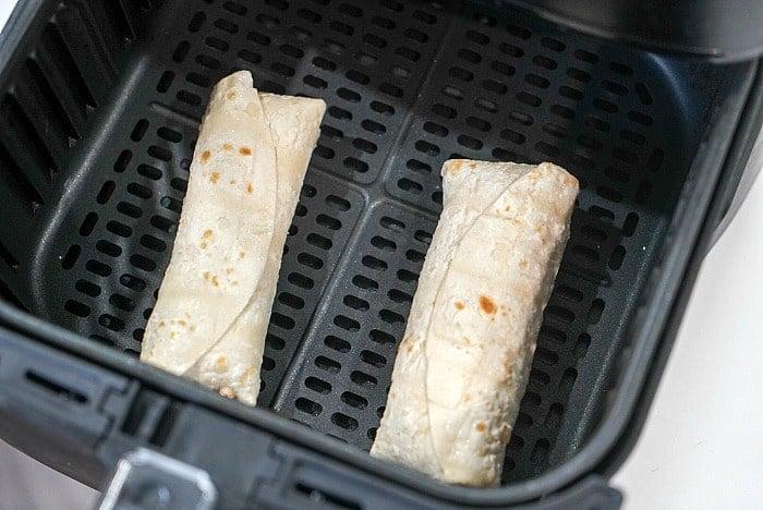 air fryer frozen burritos