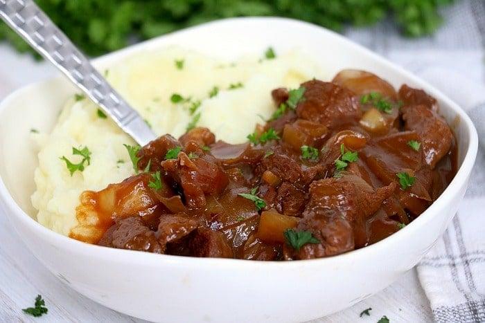 beef tips recipe slow cooker