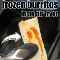 best way to cook frozen burritos