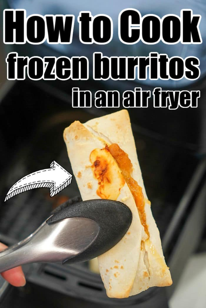 best way to cook frozen burritos
