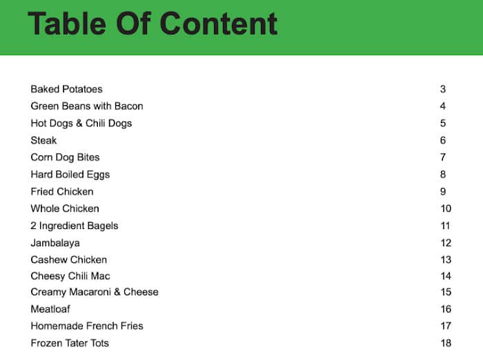 foodi recipes