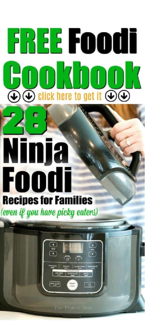 ninja foodi recipe book