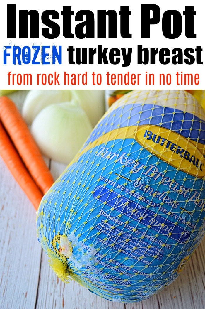 Frozen Turkey Breast instant pot