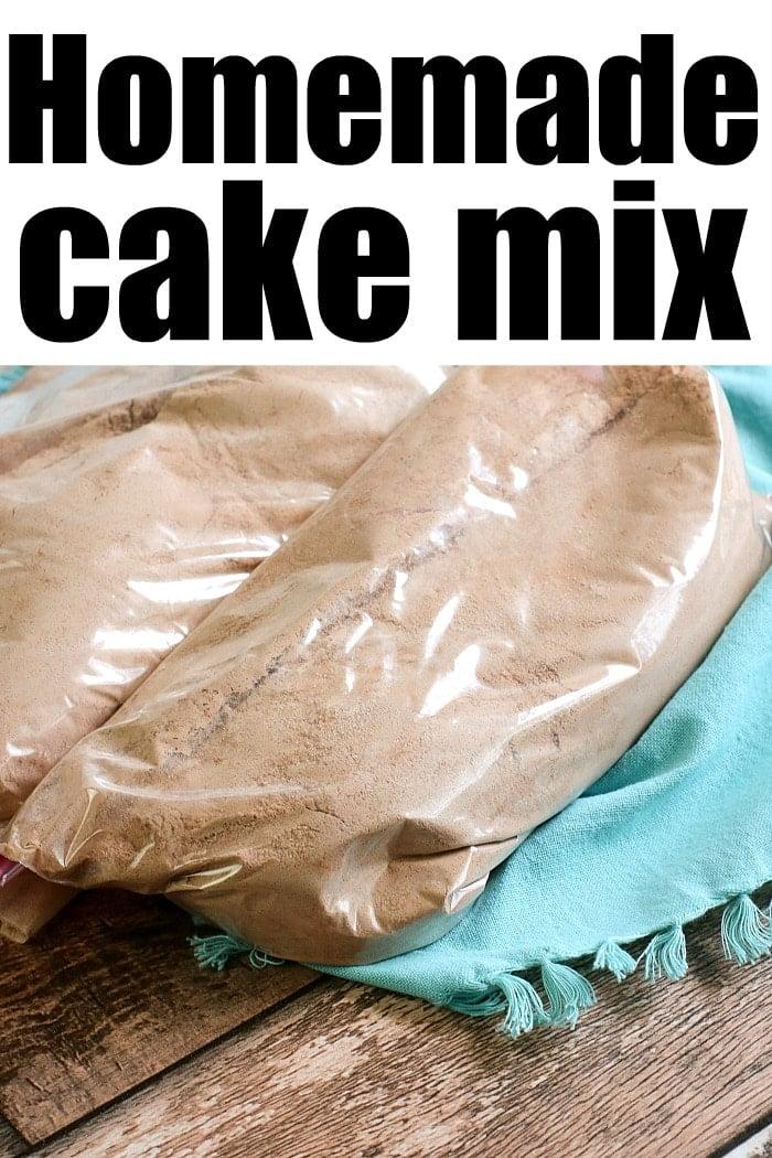 How to Make Cake Mix