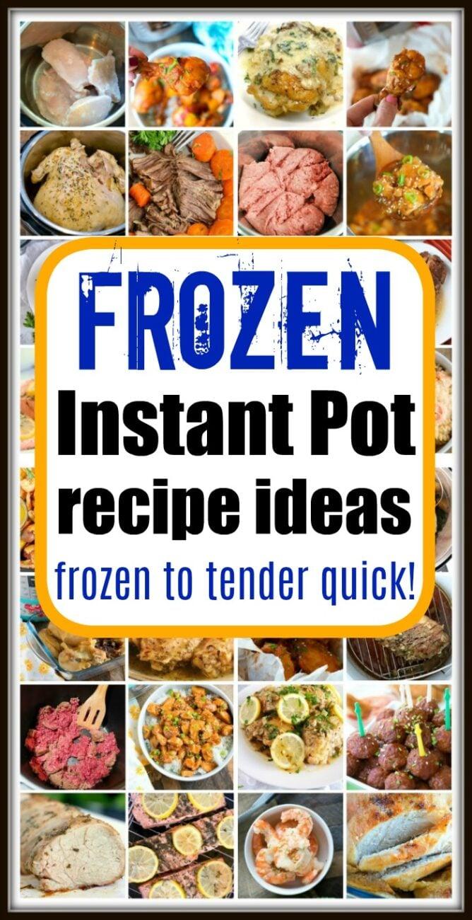 frozen meat in instant pot