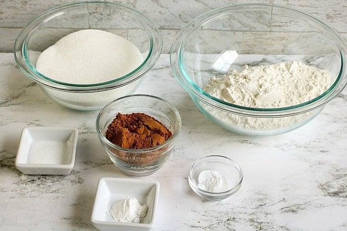 homemade chocolate cake mix