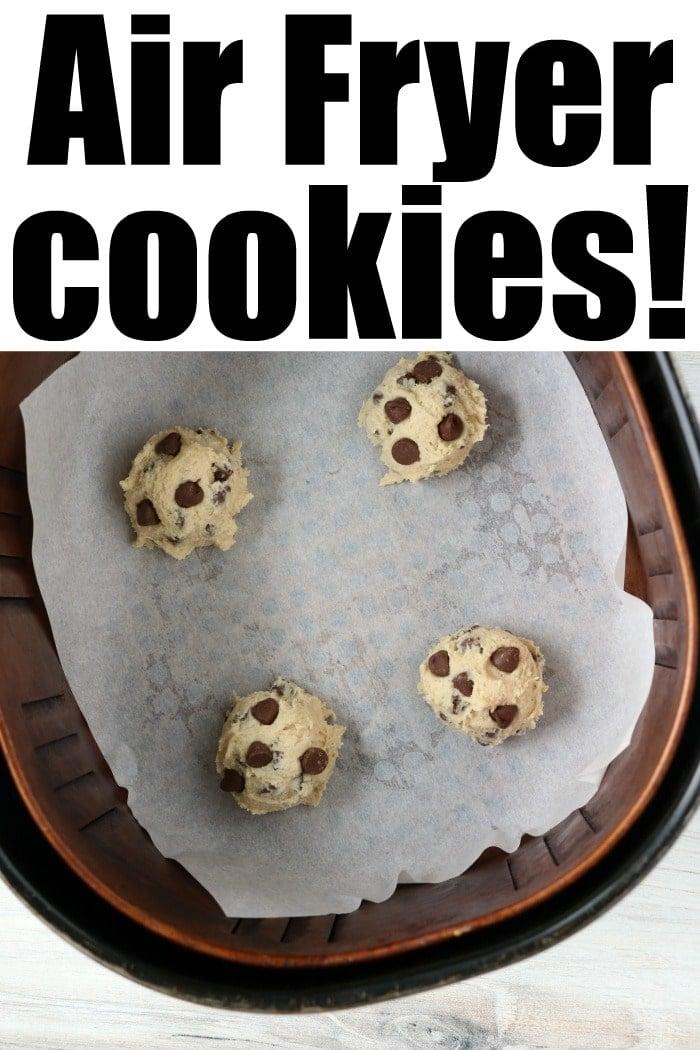 air fryer cookies