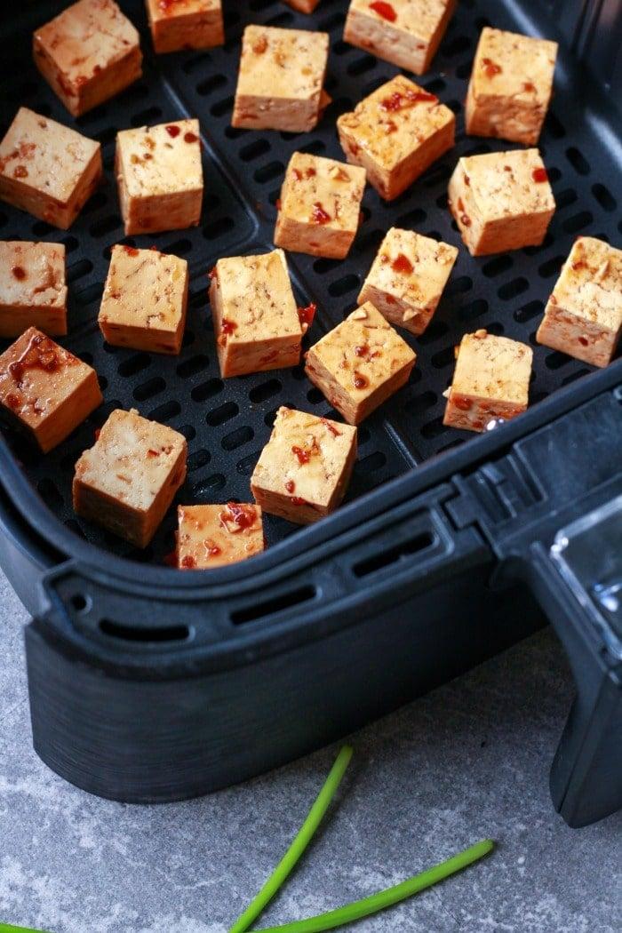 crispy tofu in air fryer