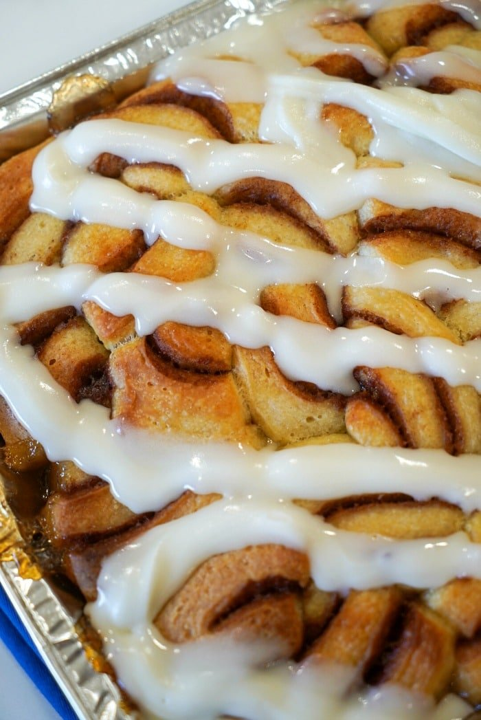 frozen cinnamon roll recipe