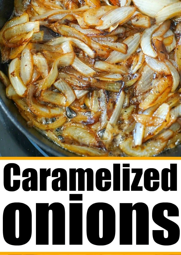 quick caramelized onions