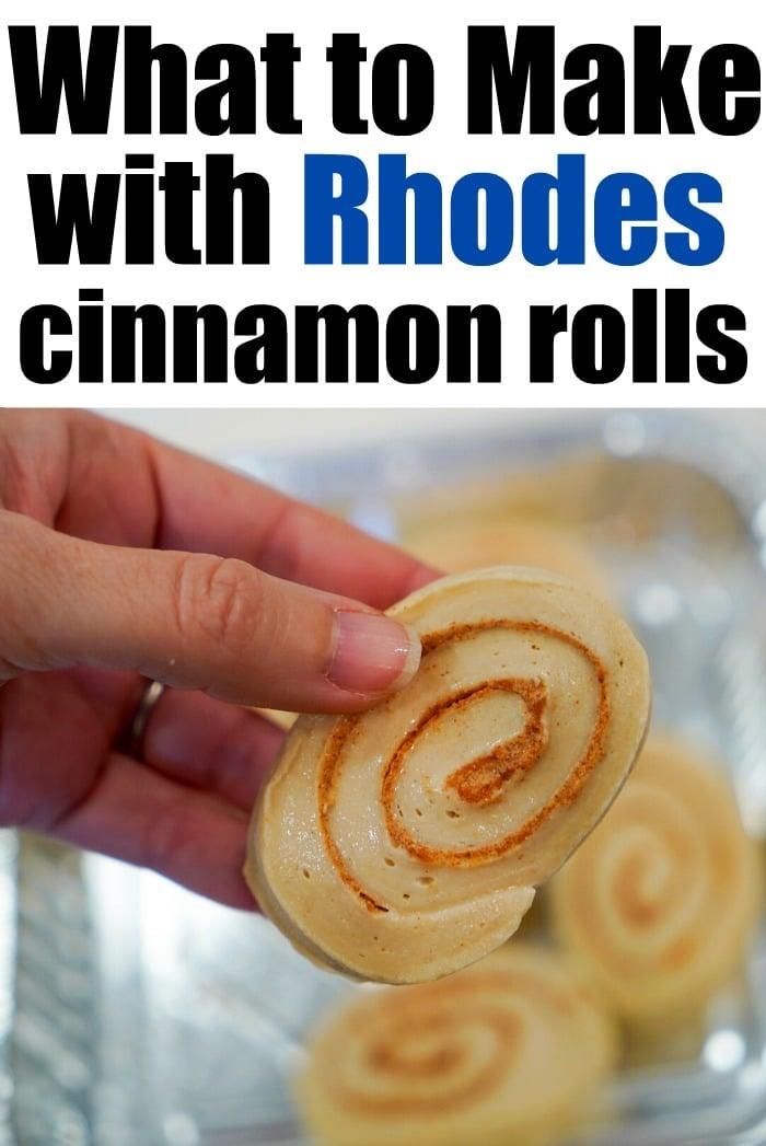rhodes frozen cinnamon rolls