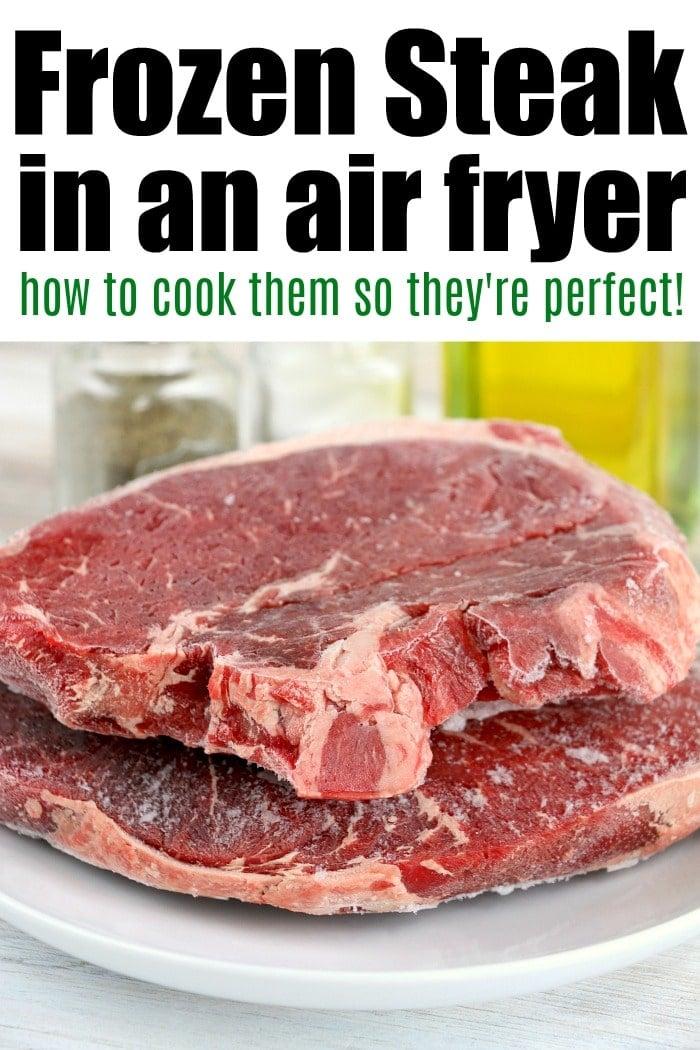Frozen Steak in Air Fryer recipe