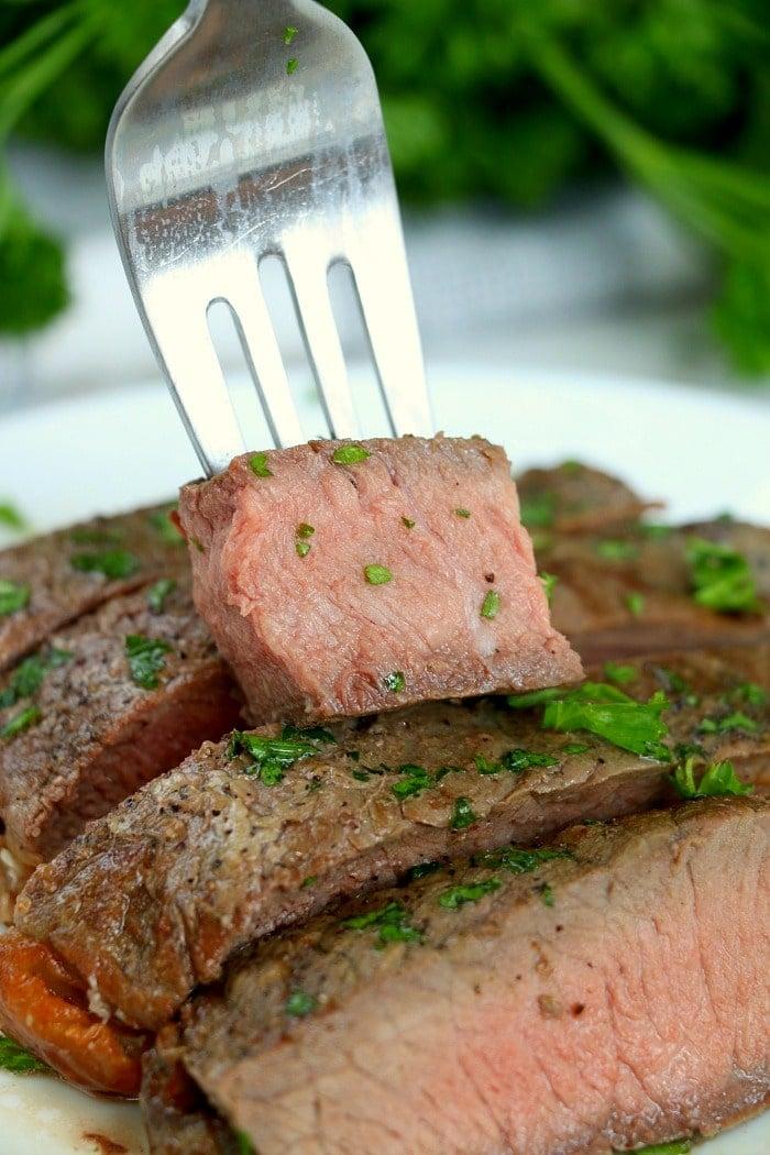Frozen Steak in Air Fryer