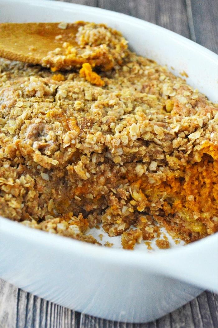 Pumpkin Crisp recipe