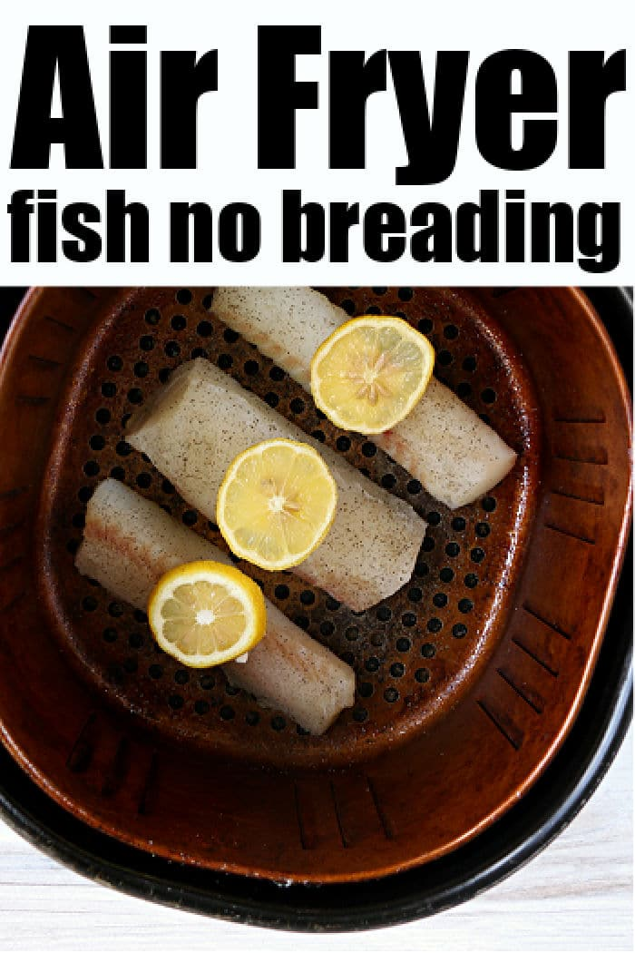 air fryer fish no breading