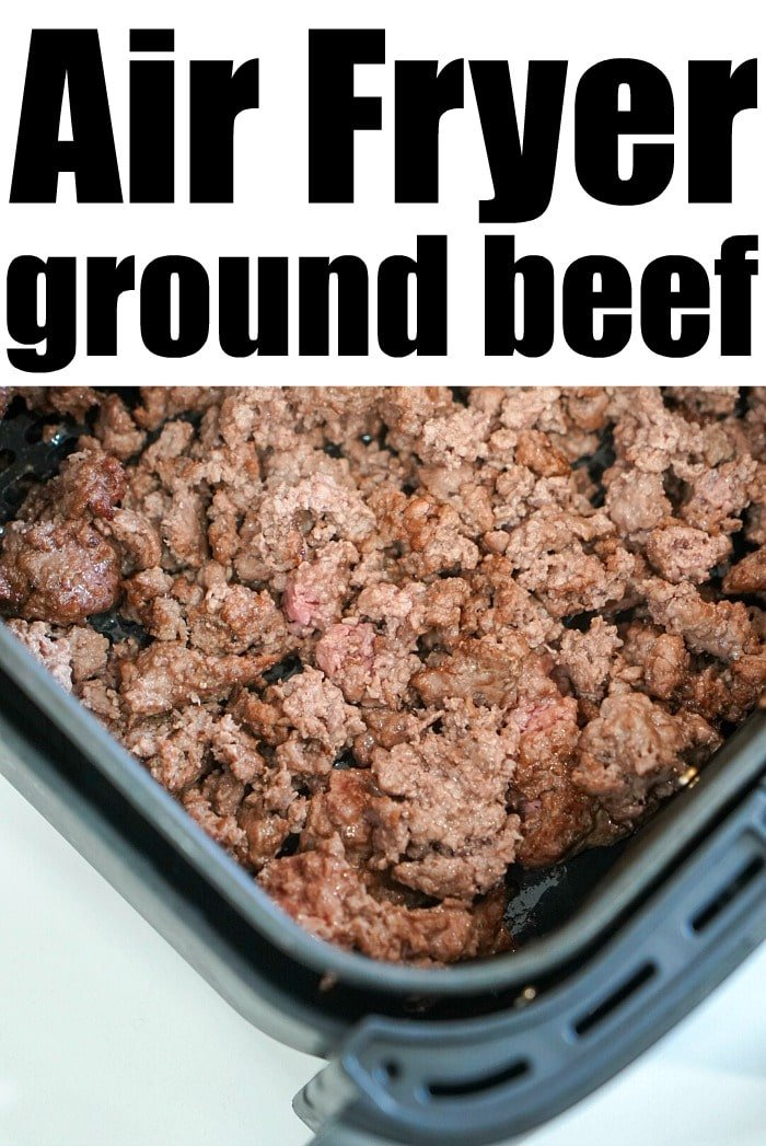 air fryer ground beef
