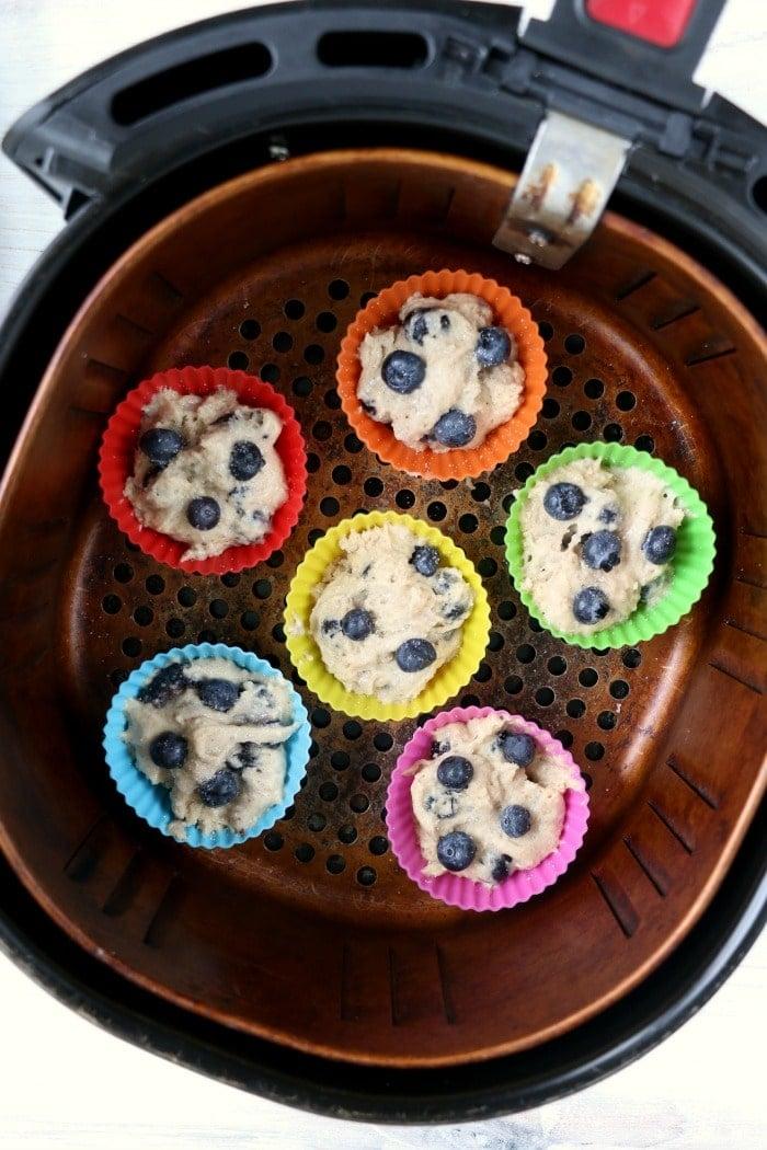 air fryer muffin recipe
