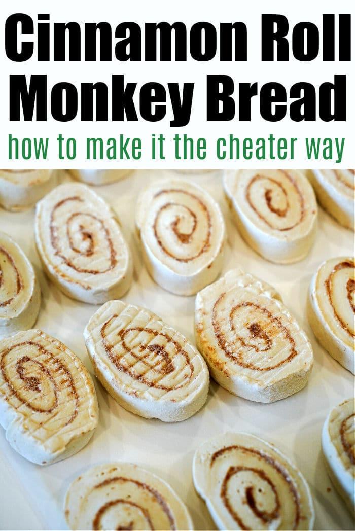 frozen cinnamon roll monkey bread