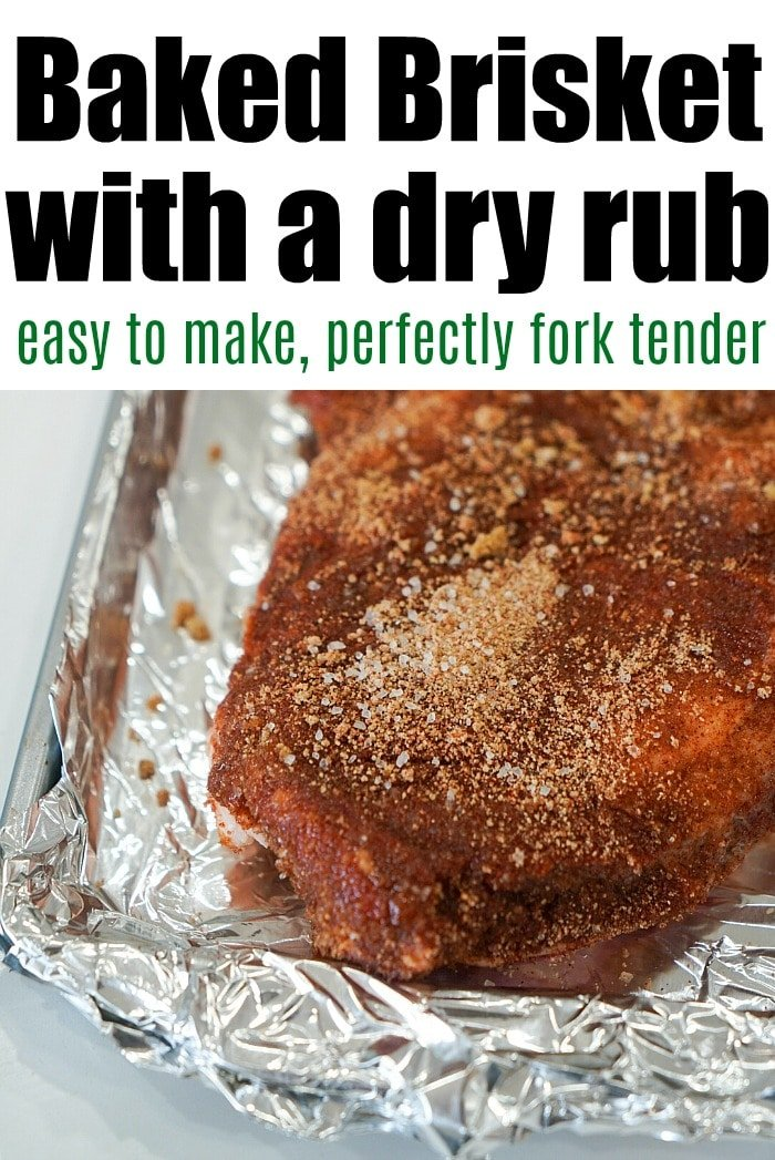 how to bake a brisket