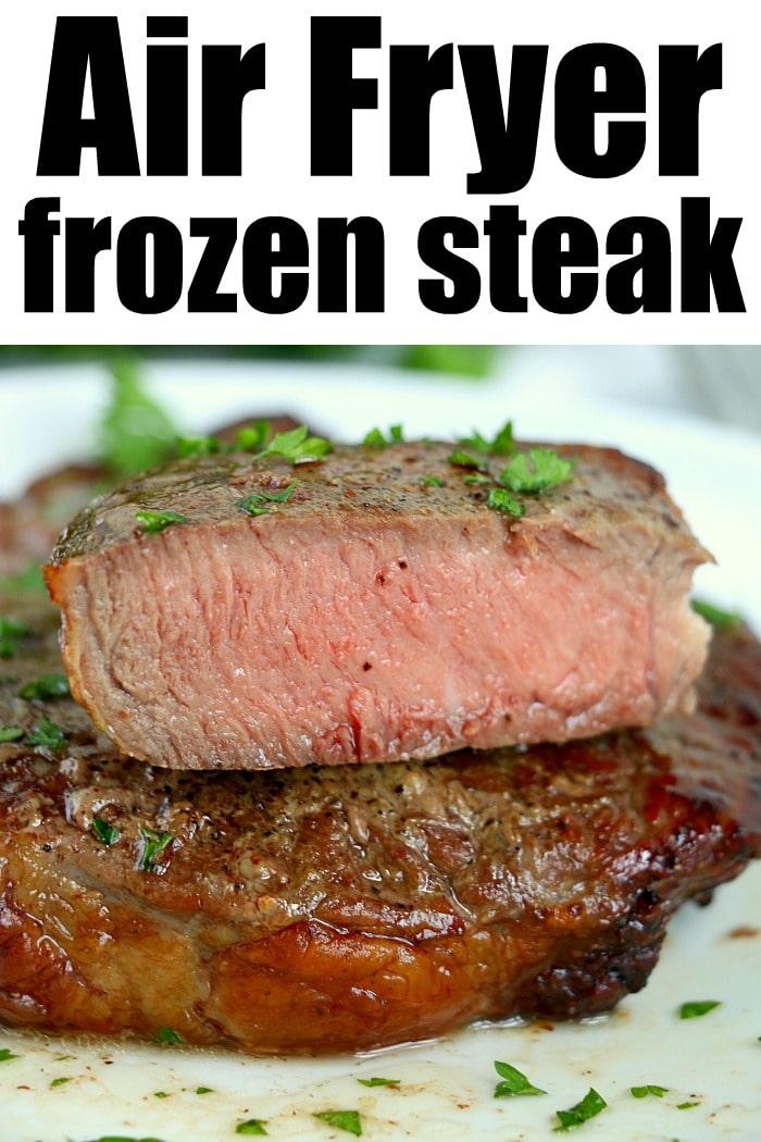 how to cook frozen steak