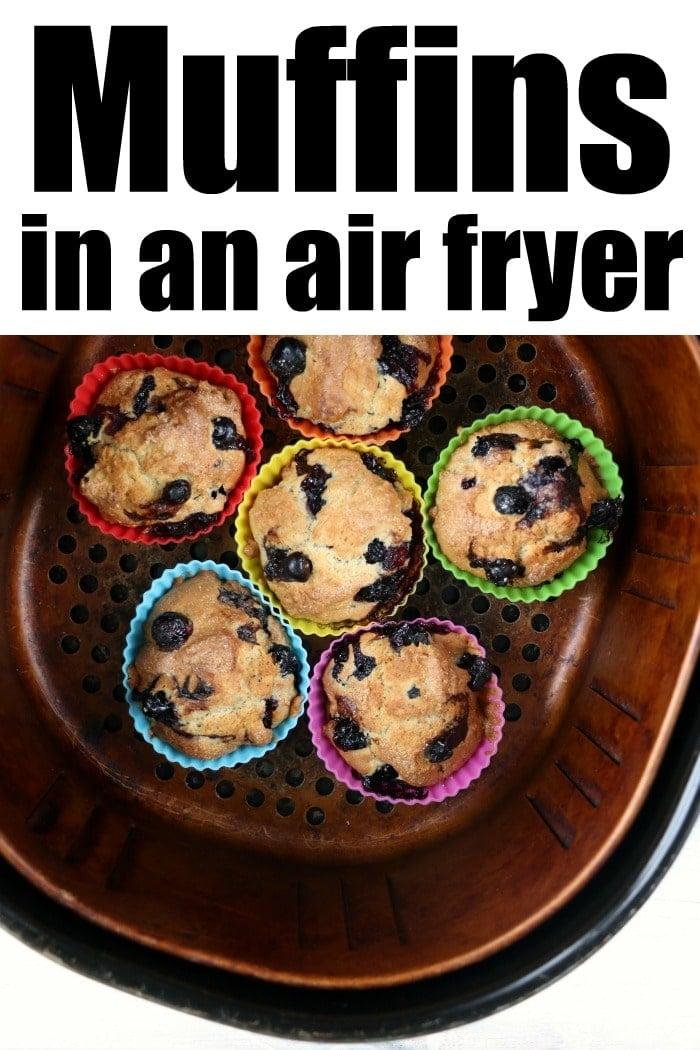 muffins in an air fryer