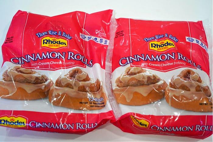 rhodes cinnamon roll monkey bread