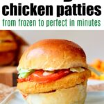 Frozen Chicken Patties Air Fryer