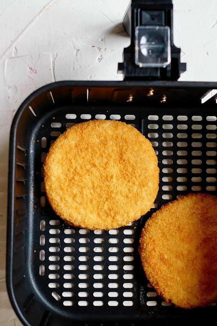Frozen Chicken Patties in Air Fryer