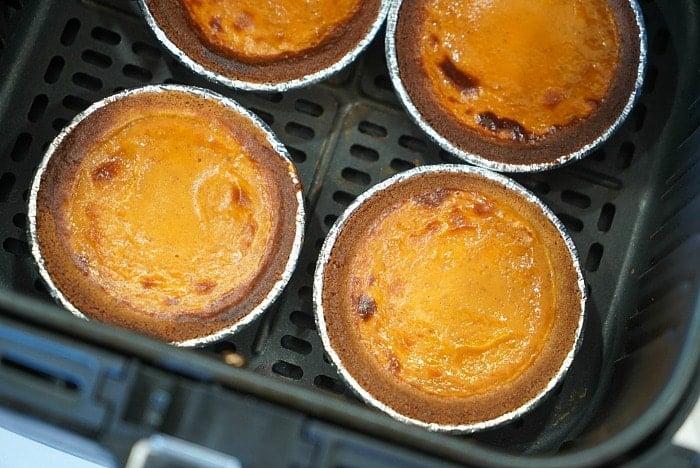 air fryer pumpkin pies