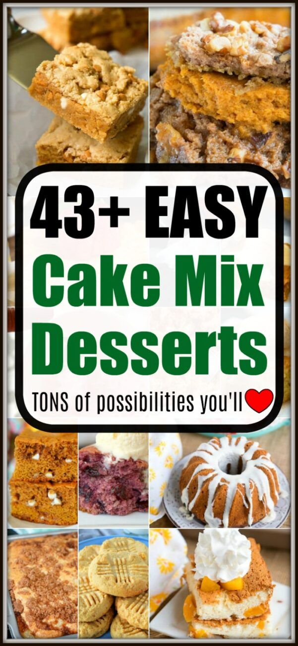 boxed cake mix recipes